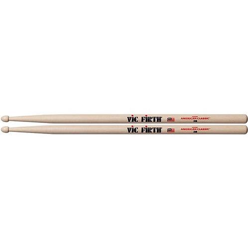 Vic Firth 2B Wood Tip Drumsticks