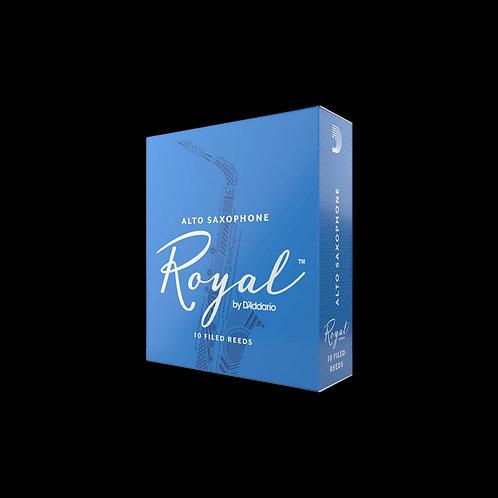RICO ROYAL BY D'ADDARIO ALTO SAXOPHONE REEDS (BOX OF 10)