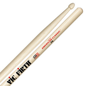 Vic Firth 7A Wood Tip Drumsticks