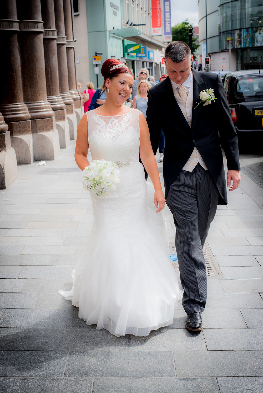 Helen and Jim Wedding Hard Days Night Hotel Liverpool