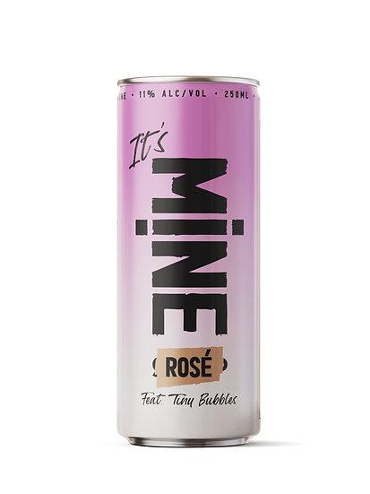 MINE Rose-  ארגז של 24 פחיות יין רוזה