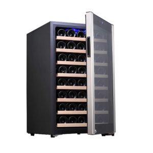 מקרר יין עד 48 בק, Galaxy פרמיום מדחס, מדפי עץ נשלפים, תצוגה דיגיטלית. משלוח חינ