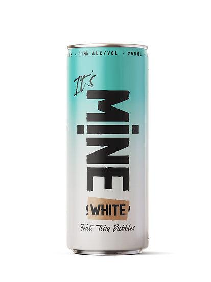 MINE White- ארגז של 24 פחיות יין לבן