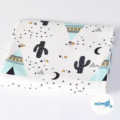 Cotton Blanket-Cactus