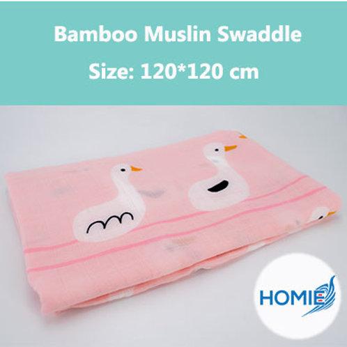 Bamboo Muslin Swaddle-Duck