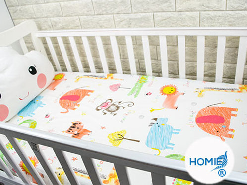 Custom crib sheet animal- standard, any Size