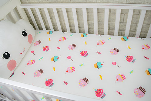 Custom crib sheet ice cream- standard, any Size