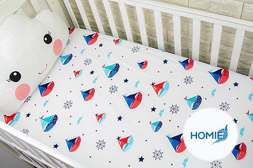 Custom crib sheet Boat- standard, any Size