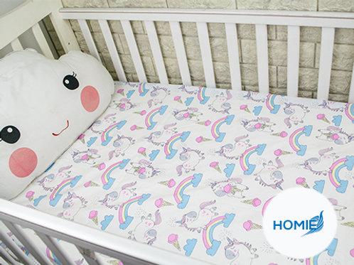 Custom crib sheet Unicon- standard, any Size