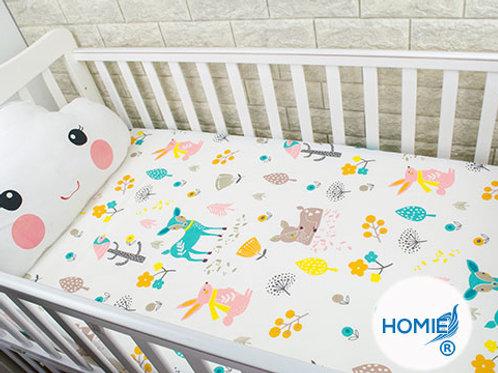 Custom crib sheet Deer- standard, any Size