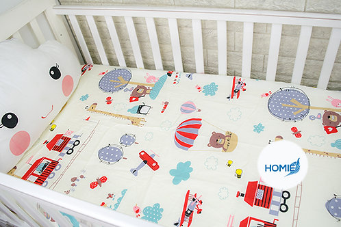 Custom crib sheet helicopter- standard, any Size