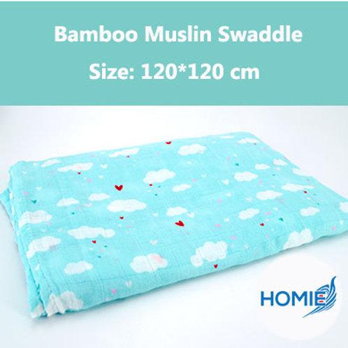 Bamboo Muslin Swaddle-Cloud
