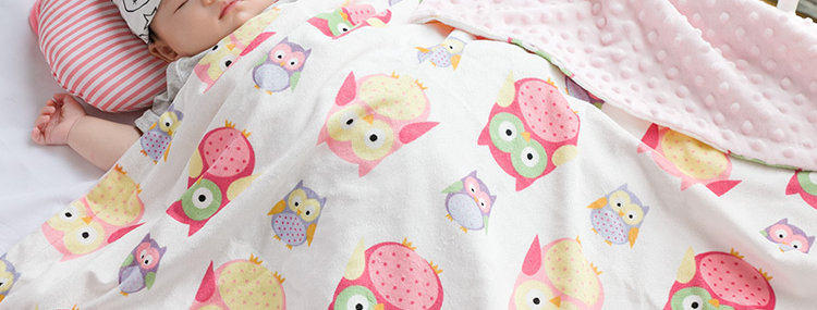Cashmere flannel blanket