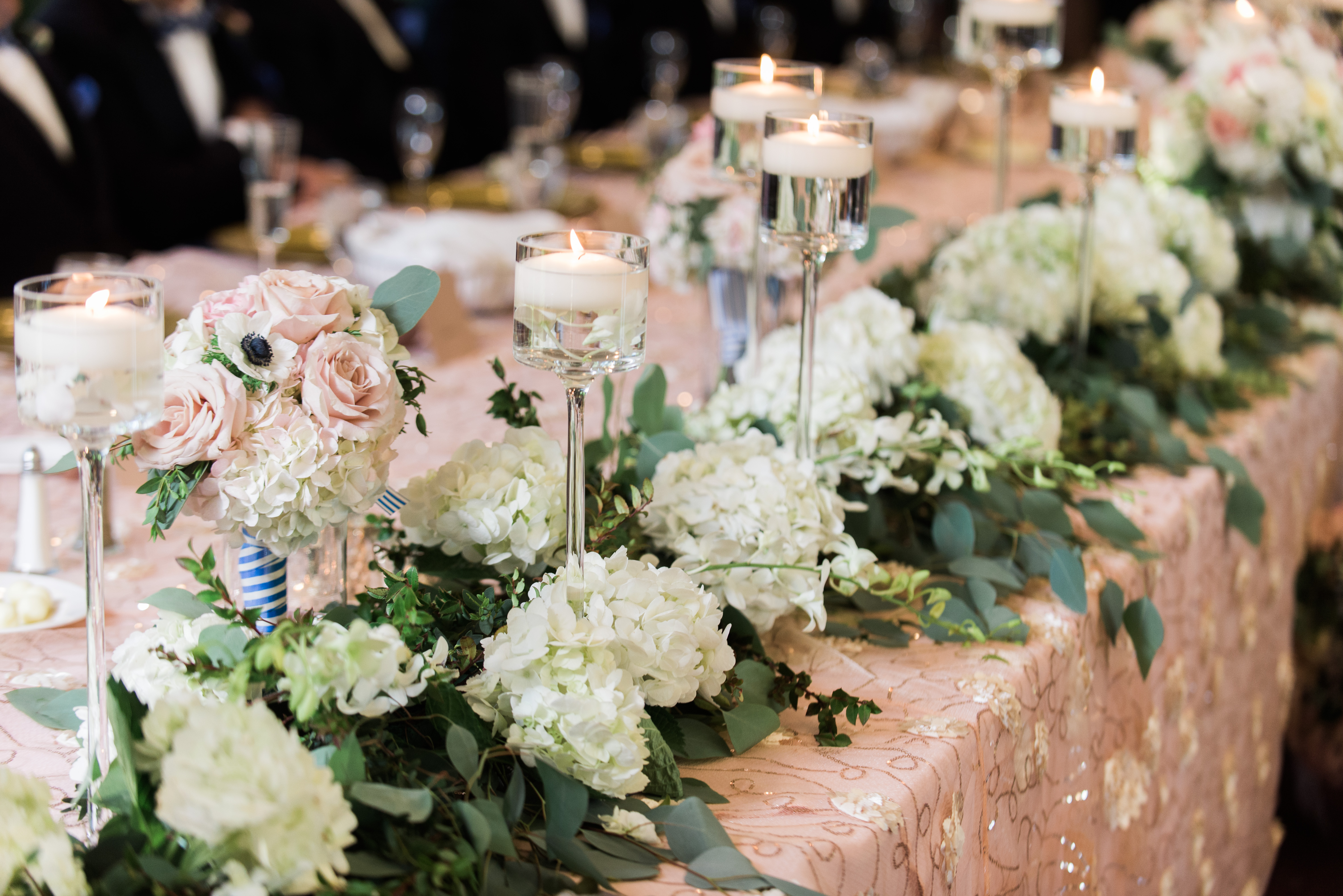 Garden Chic Wedding Reception
