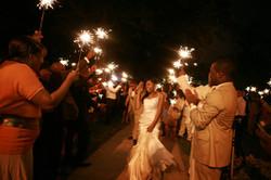 Wedding Sparkler Send Off