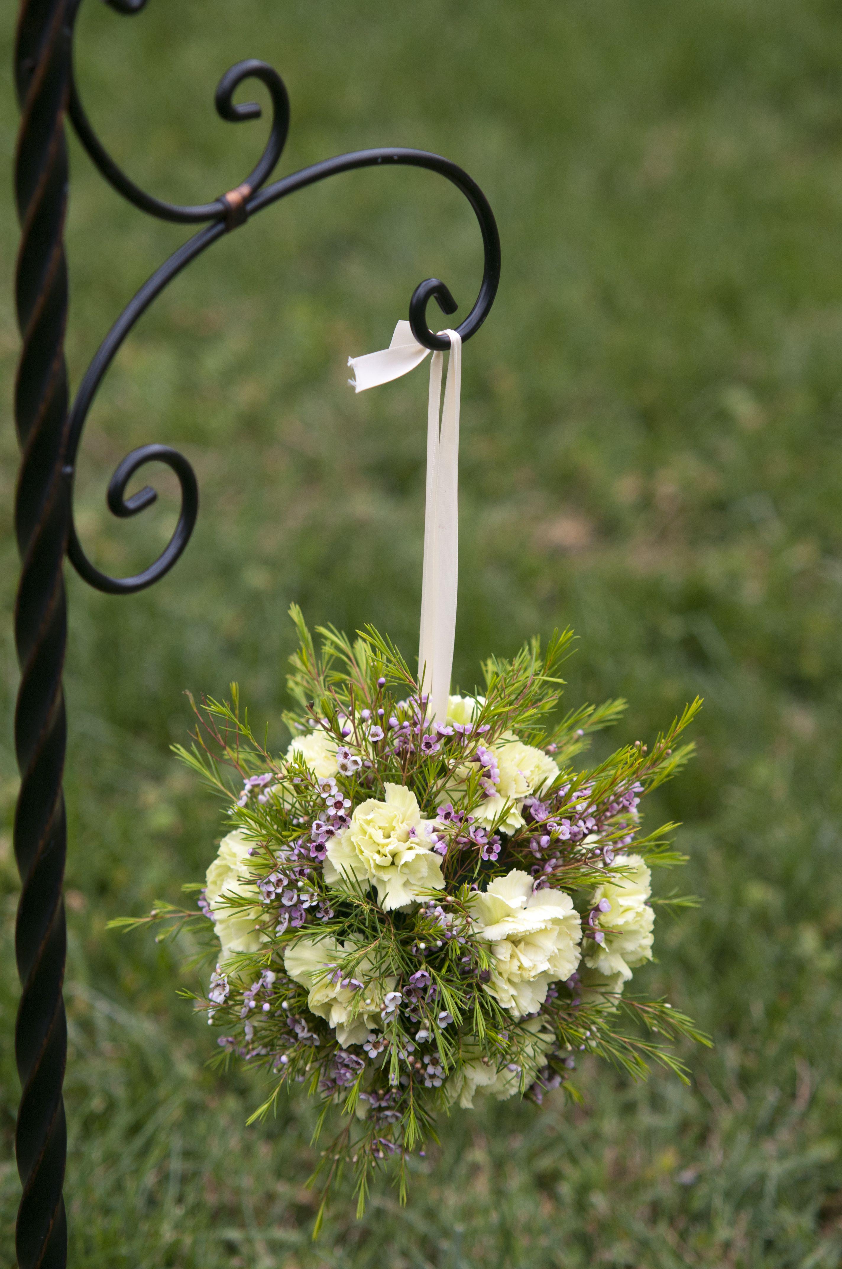 Garden Chic Pomander Bouquet