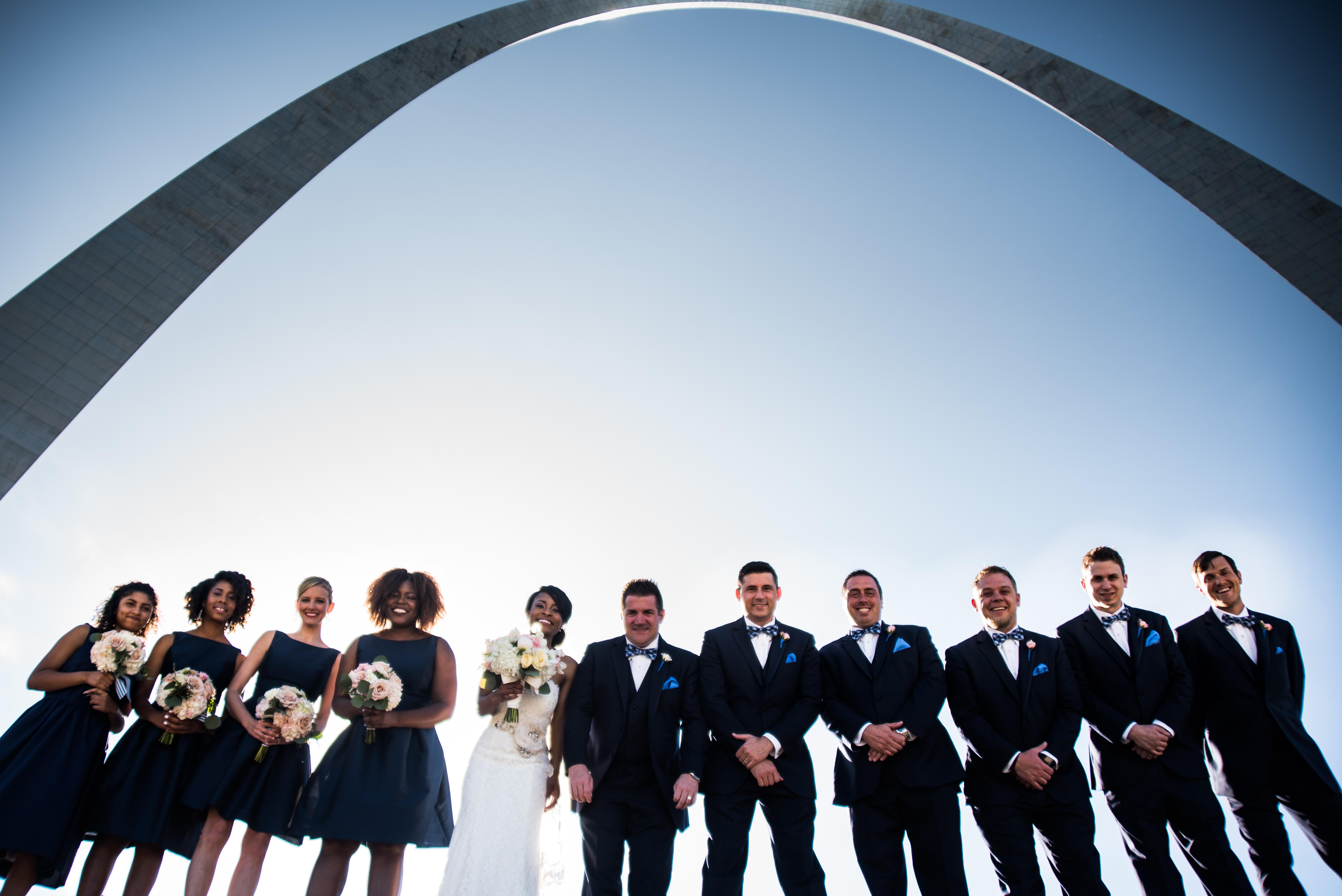 St Louis Arch Wedding