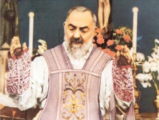 წმინდა მამა (პადრე) პიოს მოხსენიება – 23 სექტემბერი