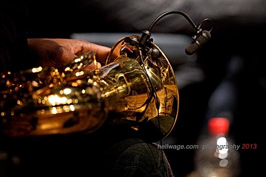 Adeniyi Allen-Taylor's Saxophone