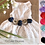Thumbnail: Lace & Burlap Dog Dress - 14 color options