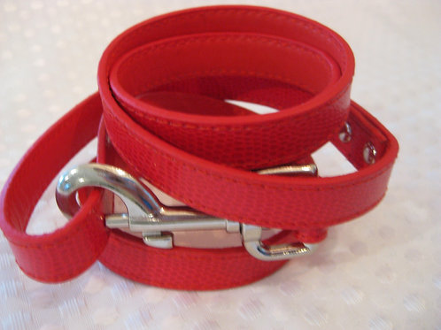 Standard leash- Red