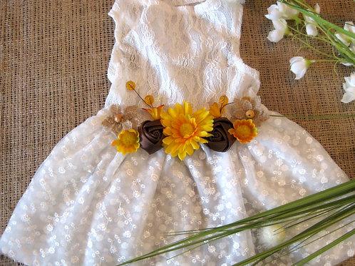 Anna Banana Rustic Dog Dress