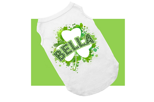 Personalized Lucky Clover shirt