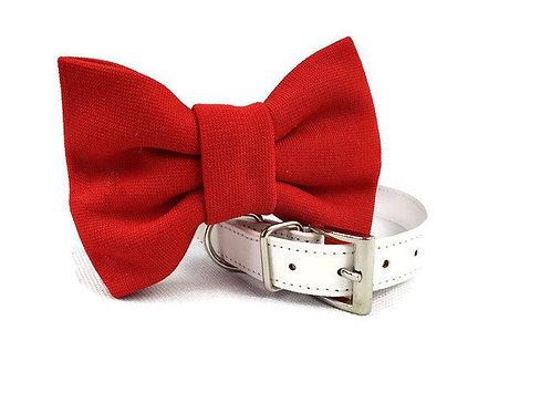 Red Bow tie collar | Dog bowtie collar