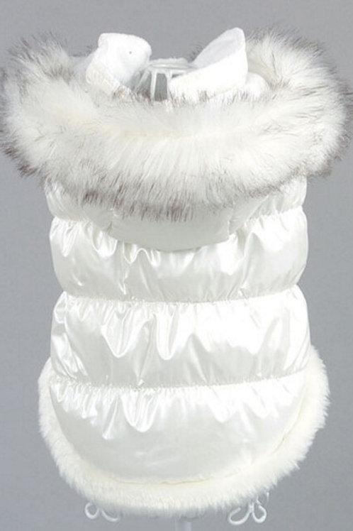 Snow White Puffer Coat- XS-3XL