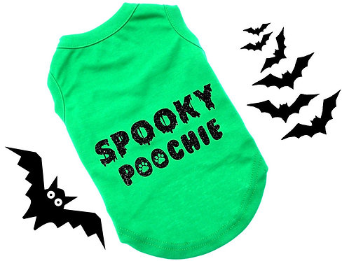 Spooky Poochie shirt | Halloween Dog Shirt