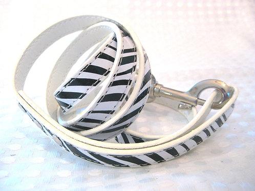 Standard leash- Zebra