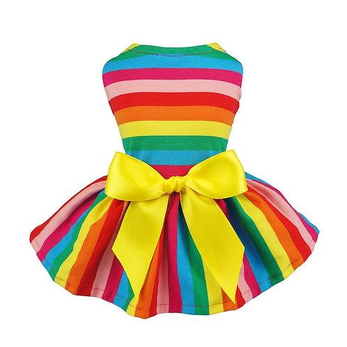 Rainbow Doggy Dress