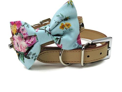 Le belle floral Bow tie collar | Dog bowtie collar