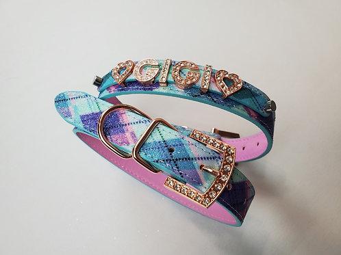 Pastel Tartan Plaid collar