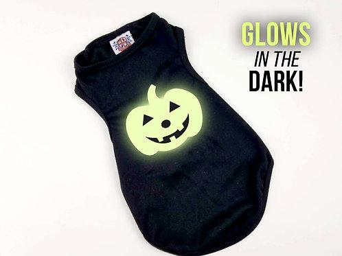 Glow In The Dark Pumpkin Shirt | Halloween shirt
