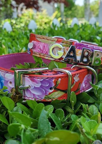 Retro Floral collar