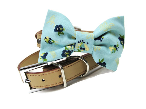 The Horchow floral Bow tie collar | Dog bowtie collar