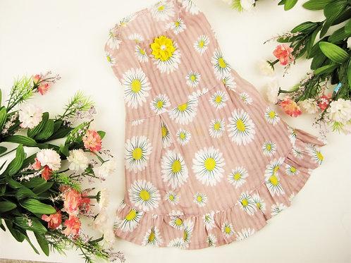 Daffodaisy Spring Dog Dress