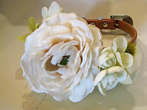 Ivory Garden Wedding Collar
