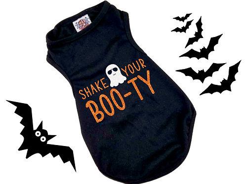 Shake Your Boo-Ty shirt | Halloween Dog Shirt