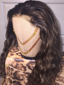Medium Wavy Hairline Illusions Lace Front Hair Replacement