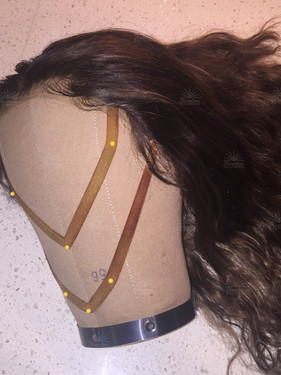 Natural Silk Lace Front Wig