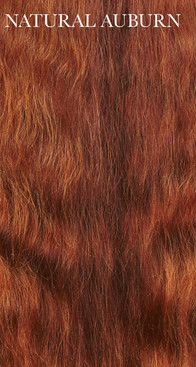 Authentic Premium Virgin Auburn Human Hair
