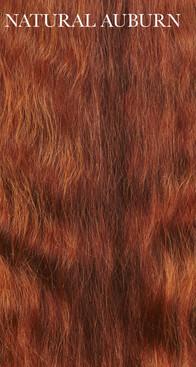 Authentic Premium Virgin Auburn Human Hair