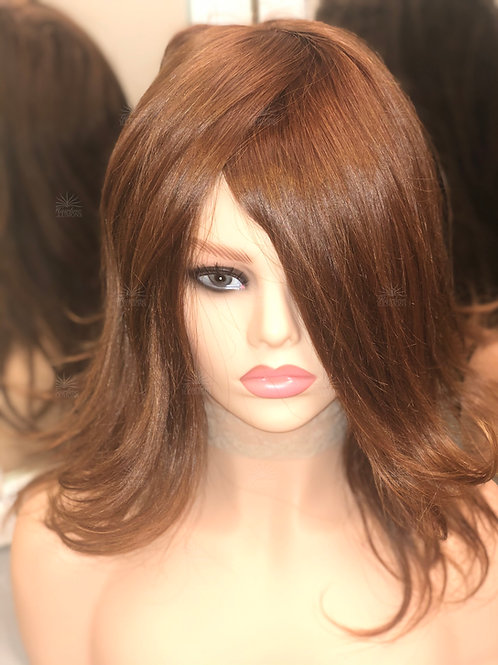 CATWALK COLLECTION: Authentic Virgin Ginger Readymade HD Cranial Prosthesis