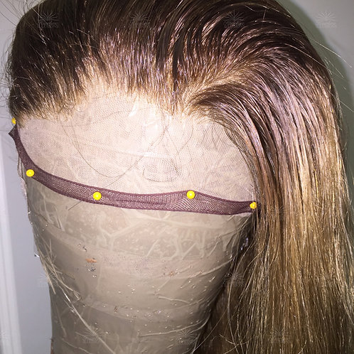 Hair Replacement Full Swiss and French Lace Wig