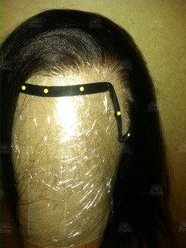 Natural Silk Lace Front Relaxed Straight Wig