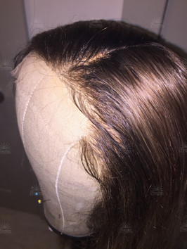Natural Lace Front Hair Replacement