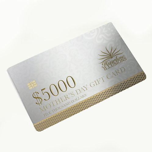 Hairline Illusions Limited Edition Gift Card