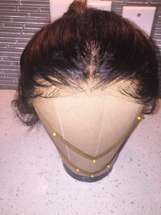 Hairline Illusions Lace Front Hair Replacement